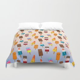 Chilled Friends Duvet Cover