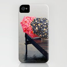 Rainy Day Friends Slim Case iPhone (4, 4s)