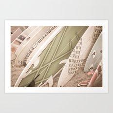 Hanging Loose Art Print