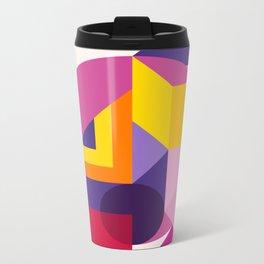 Abstract modern geometric background. Composition 14 Metal Travel Mug