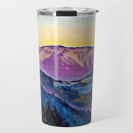 Koloman Moser - View of the Rax - Digital Remastered Edition Travel Mug