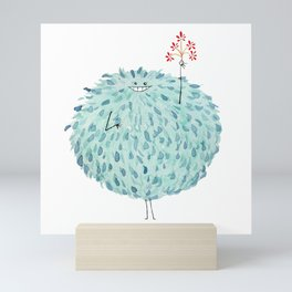 Poofy Frawna Mini Art Print