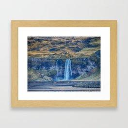 Overflow. Framed Art Print