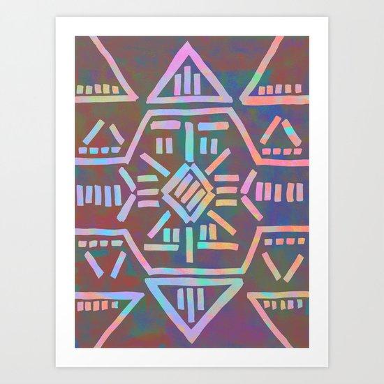 Moonrise - Opal Art Print