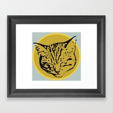 cathead Framed Art Print