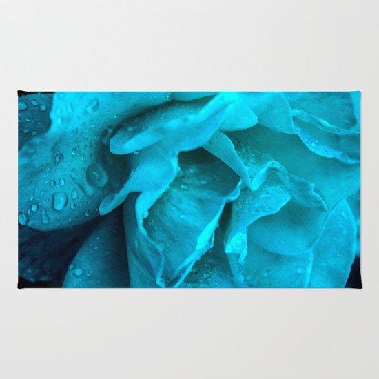 Blue Drops Rug