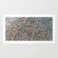 Pointilize Art Print