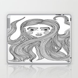 Lindsay's hair Laptop & iPad Skin