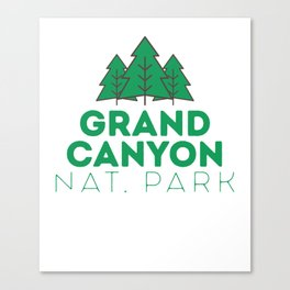 Grand Canyon National Park Tree Arizona Classic Park Canvas Print