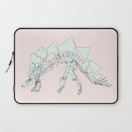 Pastel Stegasaurus Laptop Sleeve