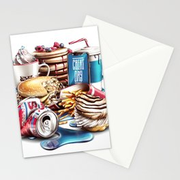 Cheat Day Stationery Cards