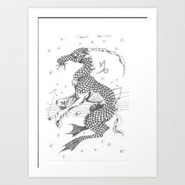 Cappycorn: The Zodiac Art Print