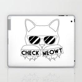 Check Meowt Laptop & iPad Skin