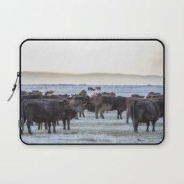 Good Morning Cows Laptop Sleeve