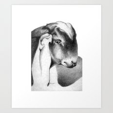 Anglo Nubian Buck Kid Art Print