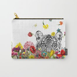 Happy Tiger Carry-All Pouch