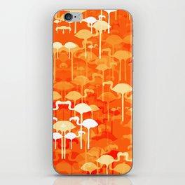 Flamingo land flip repeat, new colourway iPhone Skin