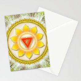 Manipura Chakra - Solarplexus Chakra Stationery Cards