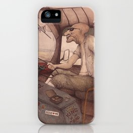 The King of the Road iPhone Case