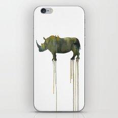 rhinoceros_002 iPhone Skin