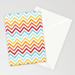 Rainbow Chevron #2 Stationery Cards