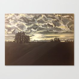 Alberta Bound Canvas Print