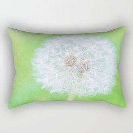 Dandelion - Just Woke Up Beauty Rectangular Pillow