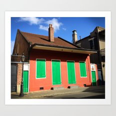 French Quarter Art Print
