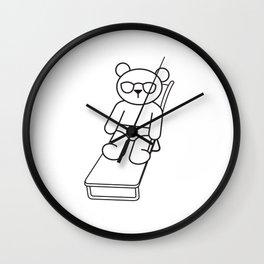 Pool Life Wall Clock