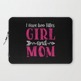 World Bestest Mom Kid Teens Family Matching Mother Laptop Sleeve