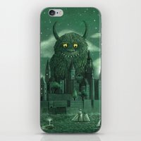 green iPhone & iPod Skins featuring Age of the Giants  by Terry Fan