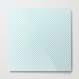 Limpet Shell Polka Dots Metal Print
