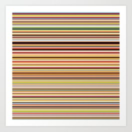 Old Skool Stripes - Horizontal Kunstdrucke