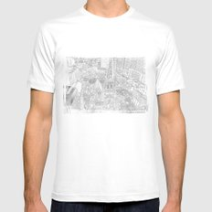 Cathedral Mens Fitted Tee MEDIUM White