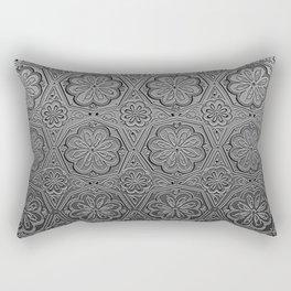 Chromatic Floral Rectangular Pillow