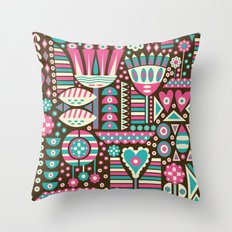 FLORAL PATTERNS Throw Pillow