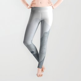 Landscape of northern mountains Leggings