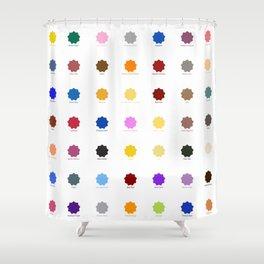 Praziquantel Shower Curtain