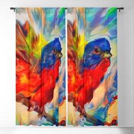 Rainbow Bird Blackout Curtain
