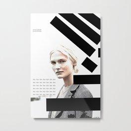 Woman N39 Metal Print
