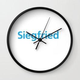 siegfriend Wall Clock