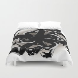 Claws Attack  Duvet Cover