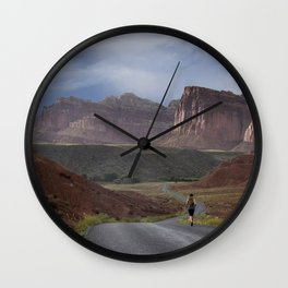 Photos USA Run Grand Canyon, Arizona, Colorado plateau Rock Nature Canyon mountain park Roads Running Crag Cliff canyons Mountains Parks Wall Clock