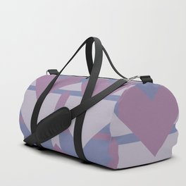 Violet Directions #society6 #violet #pattern Duffle Bag