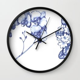 favourite flowers Wall Clock