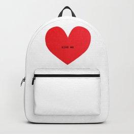 kiss me Backpack