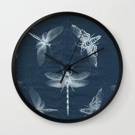 X-RAY Insect Magic Wall Clock