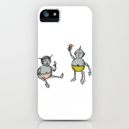 Robot Babies 1 iPhone Case