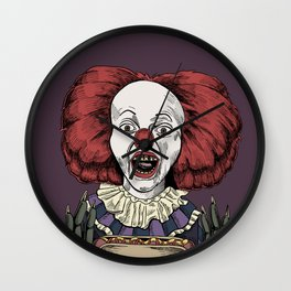 Pennywise is hungry Wall Clock
