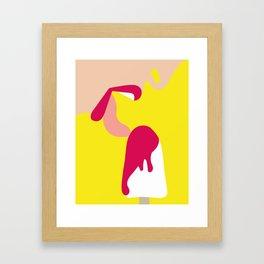 Tentation by Hellohellodie Framed Art Print